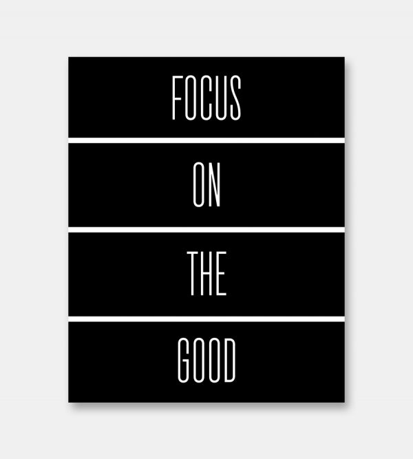 Focus quote print